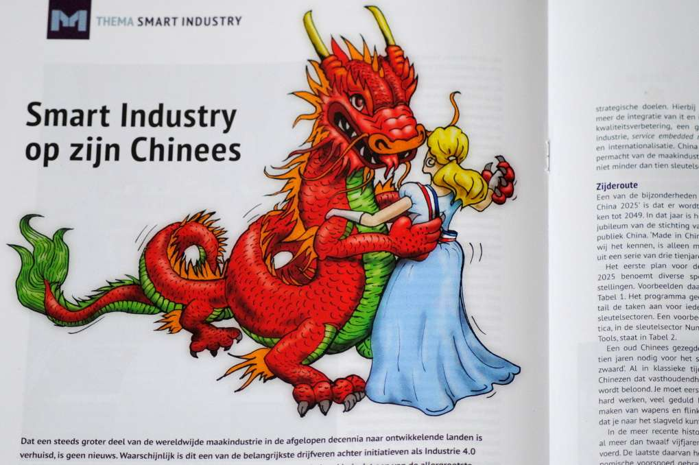 Article Made in China 2025 from James Peng and Aart-Jan Hoeven